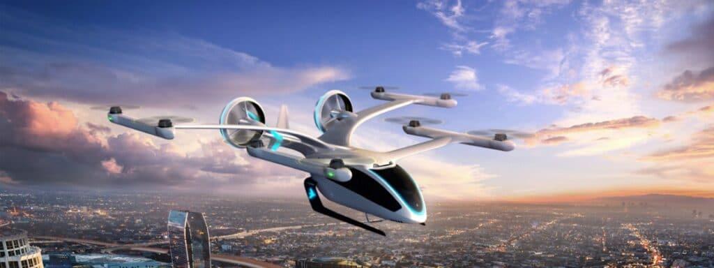 Carro Voador autônomo da Uber Elevate