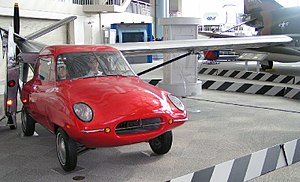 Taylor Aerocar III no Museu do Voo