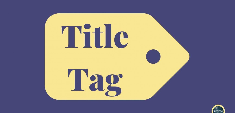 Ilustração de tag com Title Tag o que é e como criaar titles otimizadas para SEO!